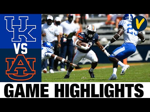 #23 Kentucky vs #8 Auburn Highlights | Week 4 College Football Highlights | 2020 College Football