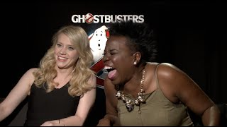 Ghostbusters Interviews - Kate McKinnon, Leslie Jones, Melissa McCarthy, Feig