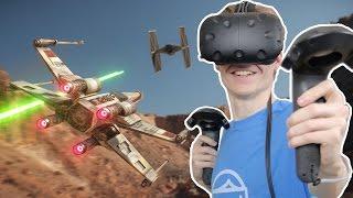 STAR WARS IN VIRTUAL REALITY! | Disney Movies VR (HTC Vive Gameplay)