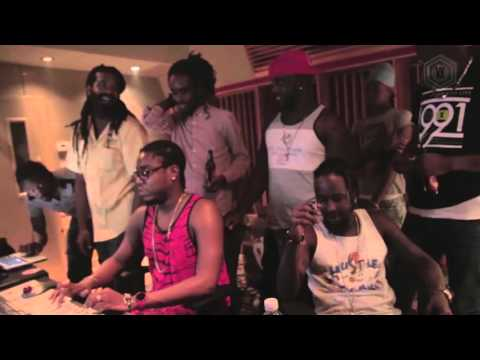 Popcaan , Sizzla kolongi ,Teflon WAY OUT [The making of the song]