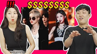 Koreans guessing price of Kpop Idol's Outfit!! BLACKPINK, BTS