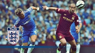 Man City 3-2 Chelsea - Community Shield 2012   Goals & Highlights