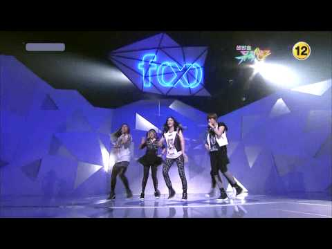 f(x) - NU ABO Comeback Stage ( May,07,10 )