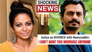 Bollywood actor Nawazuddin Siddiqui's wife files a divorce..