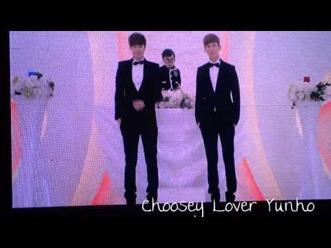 130720 HoMin Kiss(VCR) TVXQ CATCH ME in Shanghai