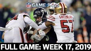 MASSIVE Playoff Seeding on the Line: 49ers vs. Seahawks 2019, Week 17 FULL GAME