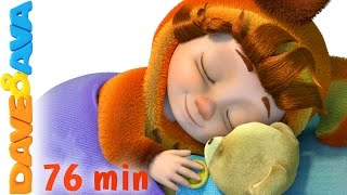 ❤️ Lullabies for Babies to Go to Sleep | Bedtime Songs | Baby Songs & Lullabies from Dave and Ava