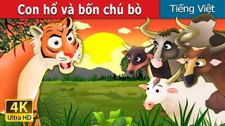 Con hổ và bốn chú bò | Chuyen co tich | Truyện cổ tích | Truyện cổ tích việt nam