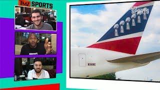 New England Patriots Team Plane Gets More Smug | TMZ Sports