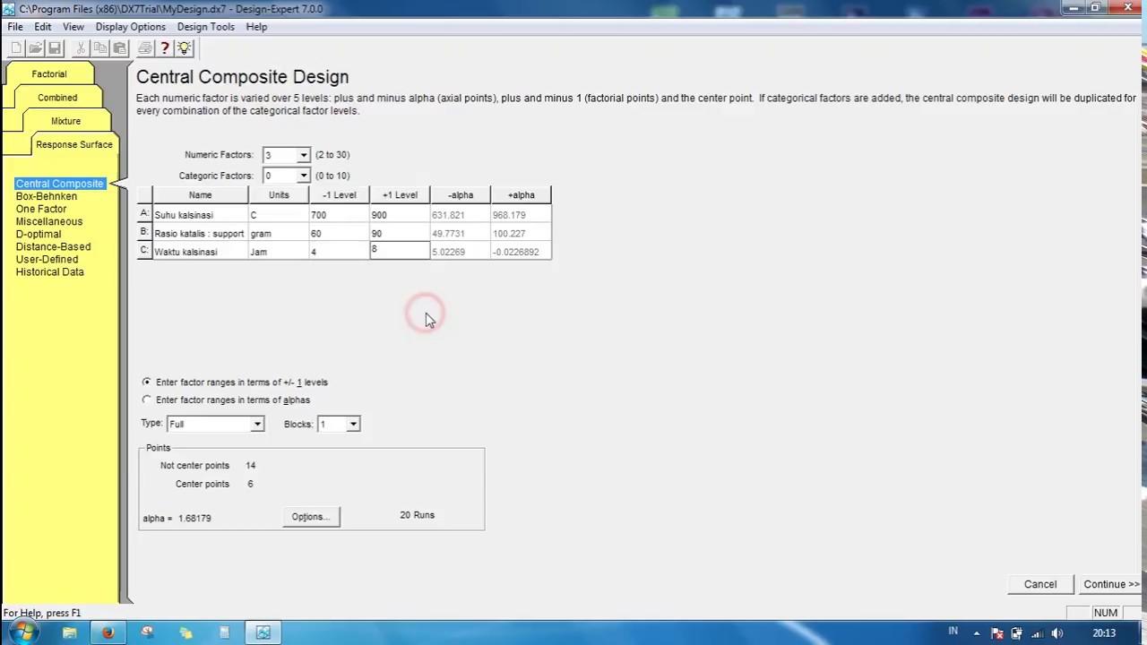 Design Expert Software 82