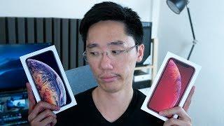 iPhone XR VS iPhone XS Max ชนกันใน 8 นาที