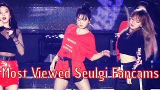 [Top 10] Most Viewed Seulgi Fancams (Red Velvet) | UPDATED