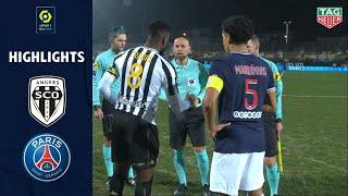 ANGERS SCO - PARIS SAINT-GERMAIN (0 - 1) - Highlights - (SCO - PSG) / 2020-2021