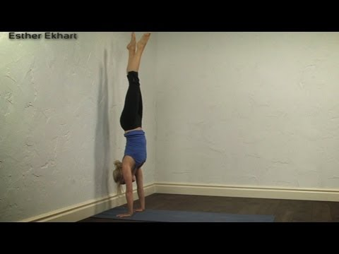handstand tutorial yoga  youtube