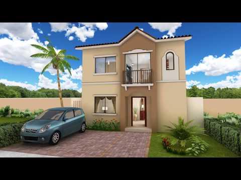Recorrido virtual de Casa modelo Fátima - Urbanización La Romareda - Guayaquil, Ecuador