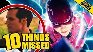 JUSTICE LEAGUE Final Trailer - Things Missed & Easter Eggs
