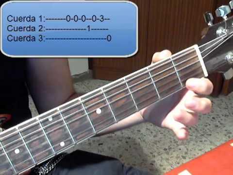 Tutorial Guitarra Super Mario Bros- Parte 1