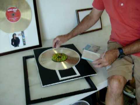 Gold Record CD Display