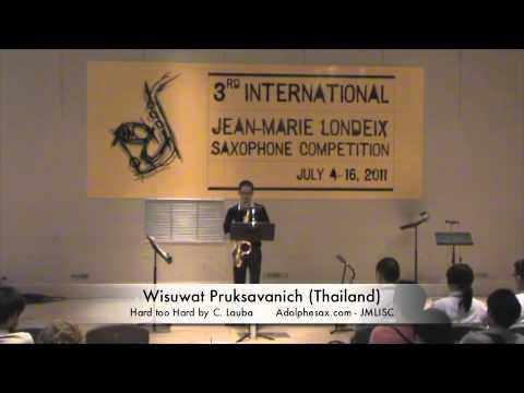 3rd JMLISC: Wisuwat Pruksavanich (Thailand) Hard too Hard by C. Lauba