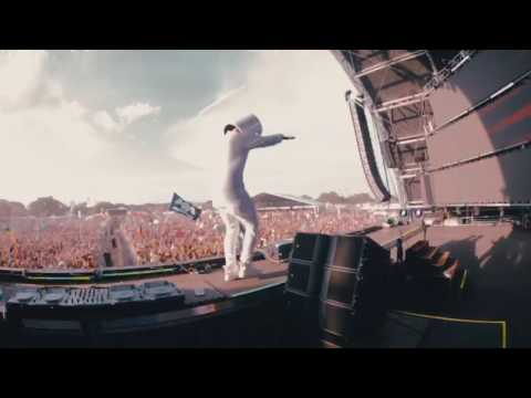 Marshmello at Sunset Music Festival in Tampa, Florida