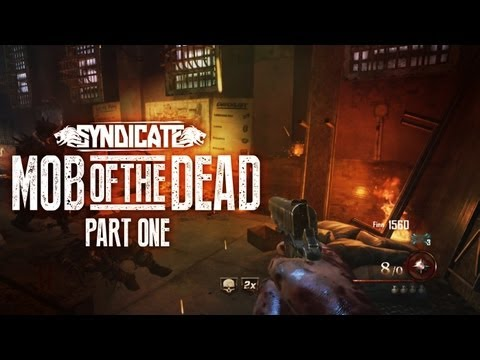 New! Black Ops 2 Zombies 'Mob Of The Dead' Gameplay! Live W/Syndicate (Part 1) - Smashpipe Games