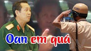 Trung tướng Võ Văn Liêm bất ngờ kêu oan, tố CSGT làm clip giả