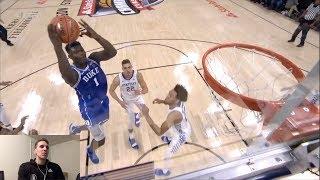 Former D1 Basketball Player Reacts to DUKE vs. KENTUCKY Highlights 11.6.18