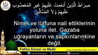 Fatiha Suresi (Mealli)