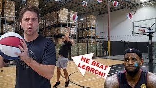 CHALLENGING WORLD'S BEST H.O.R.S.E. PLAYER! *He Beat LeBron James!*