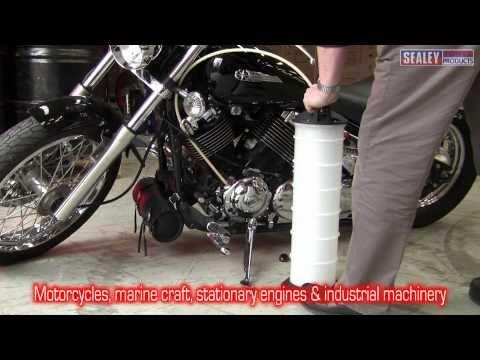 Sealey Vacuum Oil & Fluid Extractor Manual 6.5ltr Model No-TP69