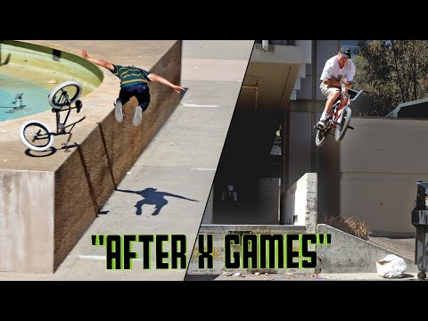After X Games - Monster Energy BMX