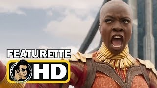 BLACK PANTHER Official Featurette Trailer - Warriors of Wakanda (2018) Marvel Superhero Movie HD