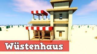 Wie Baut Man Ein Wüstenhaus In Minecraft Minecraft Haus Bauen - Minecraft hauser schnell bauen