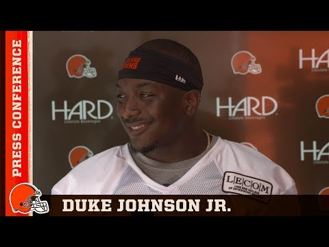 Duke Johnson: Nick Chubb is in the wrong generation