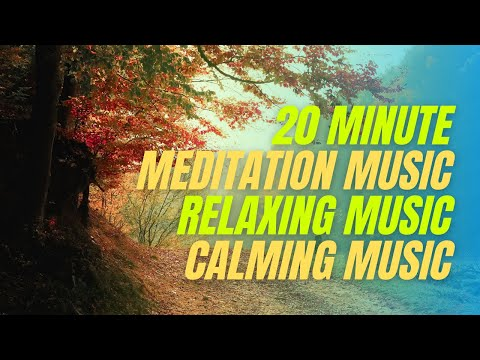 20 Minute Meditation Music, Relaxing Music, Stress Relief Music, Study Music, Sleeping Music