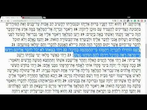 Gospel of Luke in Hebrew - Chapter 1 ~ הבּשורה על־פי לוקס פרק א
