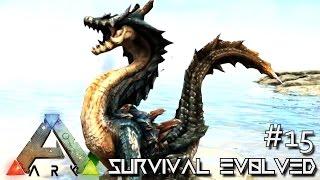 ARK: SURVIVAL EVOLVED - NEW DRAGON MONSTER LAGIACRUS & QURUPECO !!! E15 (ARK ANNUNAKI EXTINCTION)