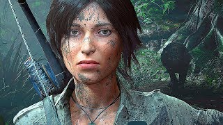 Shadow of the Tomb Raider All Cutscenes Movie 60FPS