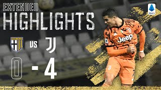 Parma 0-4 Juventus | Ronaldo Scores another Towering Header! | EXTENDED Highlights