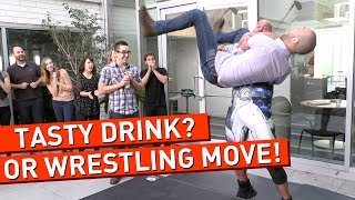 Can You Tell a Cocktail From a Wrestling Move?