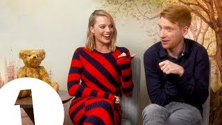 """Have you ever heard anything like it?!"": Margot Robbie on Domhnall Gleeson's armpit farts"