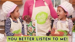 TWINS COOK FOR FIRST TIME!
