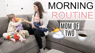 MORNING ROUTINE 2019 | MOM OF 2 | MORNING MOTIVATION | Simply Allie