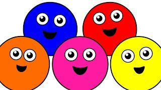 """""""Color Songs Collection Vol. 1"""" - Learn Colors, Teach Colours, Baby Toddler Preschool Nursery Rhymes"""
