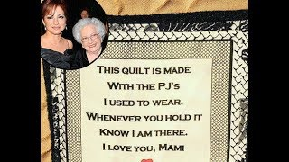 Gloria Estefan's sister makes her a quilt from their late mother's pyjamas | BREAKING NEWS TODAY