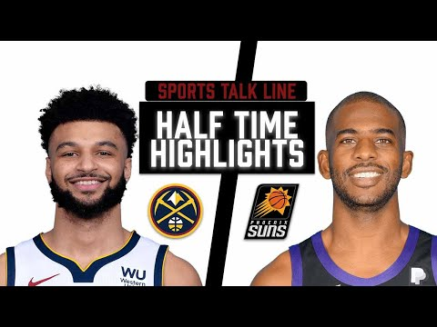 Nuggets vs Suns HIGHLIGHTS Halftime   NBA Playoffs Game 2