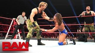 Roode & Gable vs. AOP & Maverick - Raw Tag Team Title 2-on-3 Handicap Match: Raw, Dec. 10, 2018