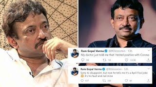 RGV jokes about testing positive to coronavirus, gets trol..