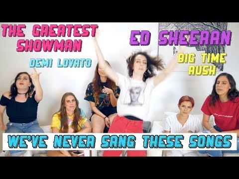 HARMONIZING CHALLENGE #2 - Big Time Rush, Ed Sheeran, Demi Lovato + MORE