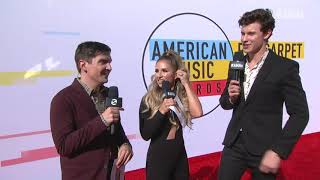 Shawn Mendes Red Carpet Interview - AMAs 2018